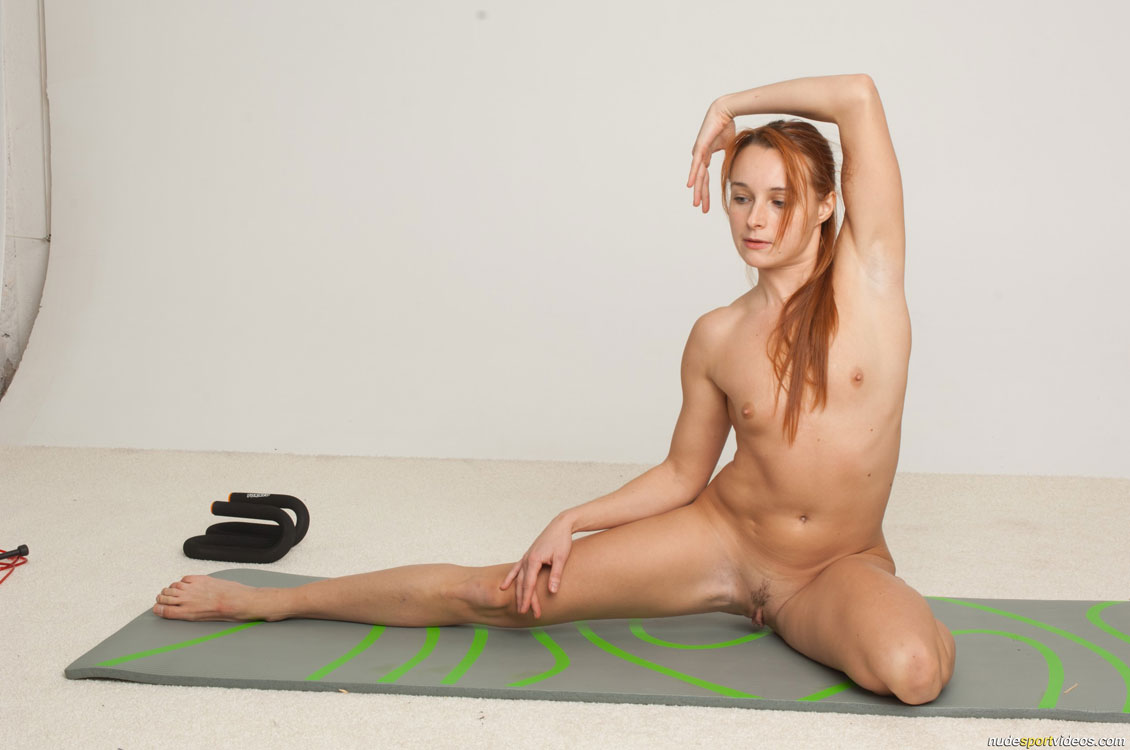 Advise Nude girls doing exercise understood