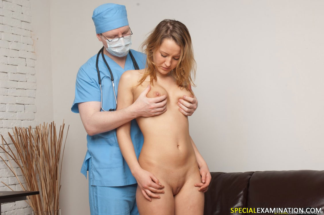 Of doctors examining huge boy cock 10