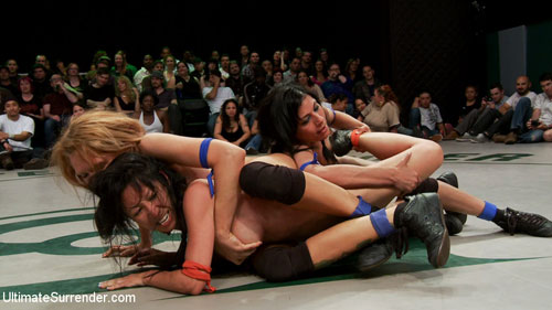 Watch 16 minutes of full streaming video of this nude wrestling tag team ...